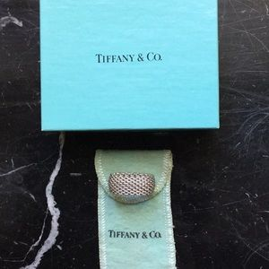 Tiffany Somerset Ring. Size 7. Sterling . Like new